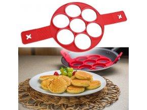 Silikonová forma na 7 lívanců/ omelet