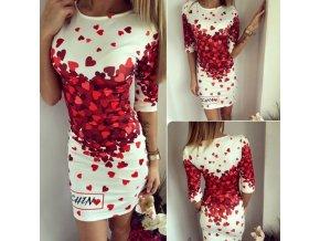 Stylové dámské letní šaty HEARTS