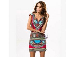 Dámské barevné šaty Kleopatra