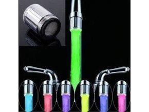 LED nástavec na vodovodní kohoutek