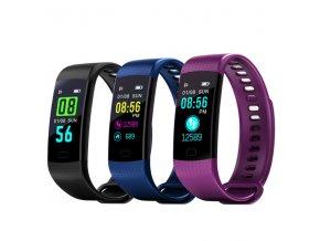 Inteligentní fitness hodinky s měřením tlaku a tepu
