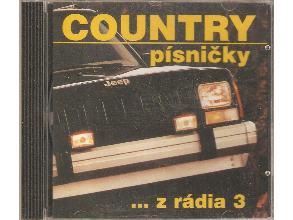 CD COUNTRY písničky ...z radia 3