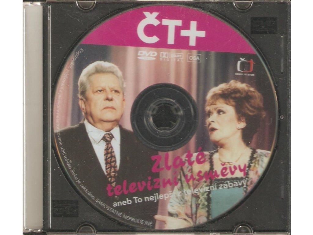 CD Jiřina Bohdalová a Josef Dvořák - ZLATÉ TELEVIZNÍ ÚSMĚVY aneb To nejlepší z televizní zábavy
