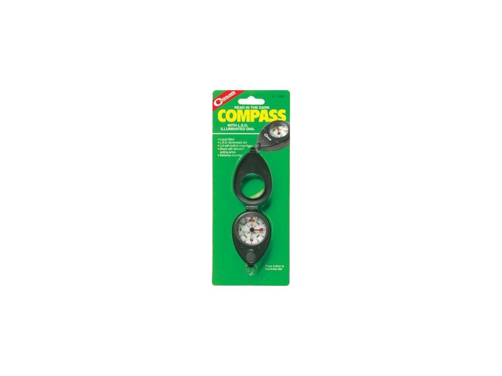 Kompas kapalinový s osvětlením