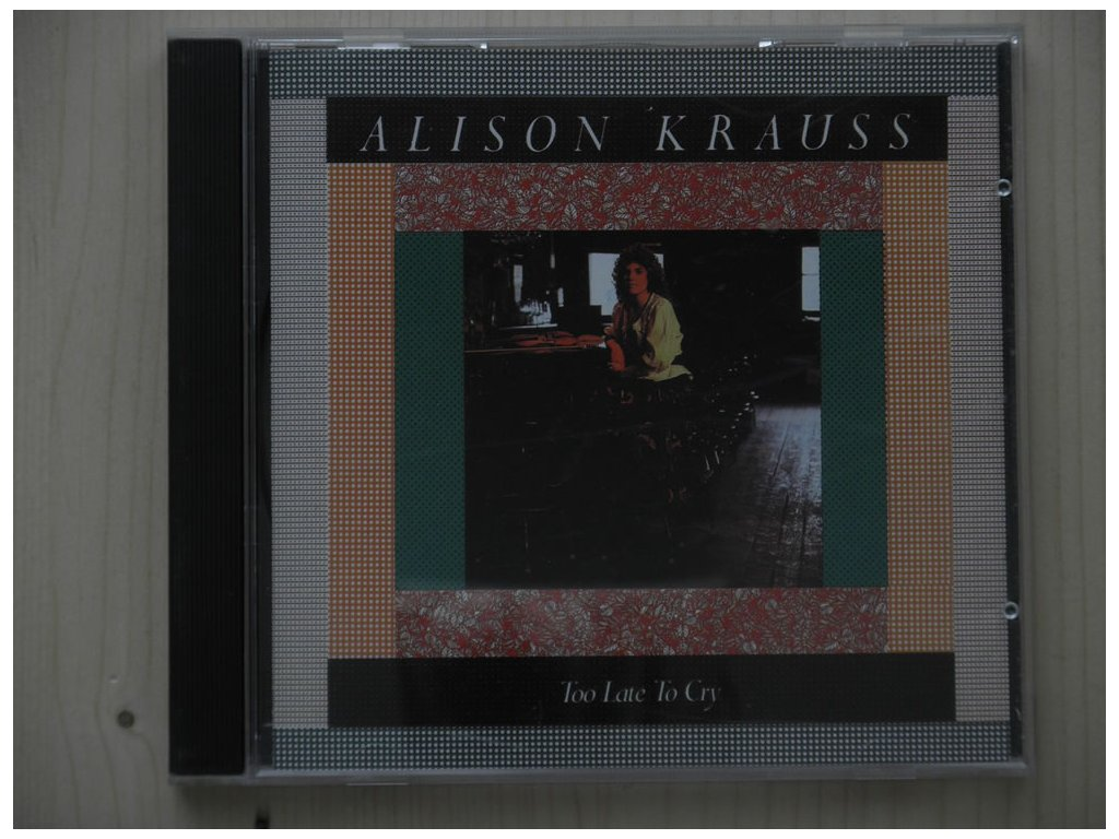 ALISON KRAUSS - Too Late To Cry