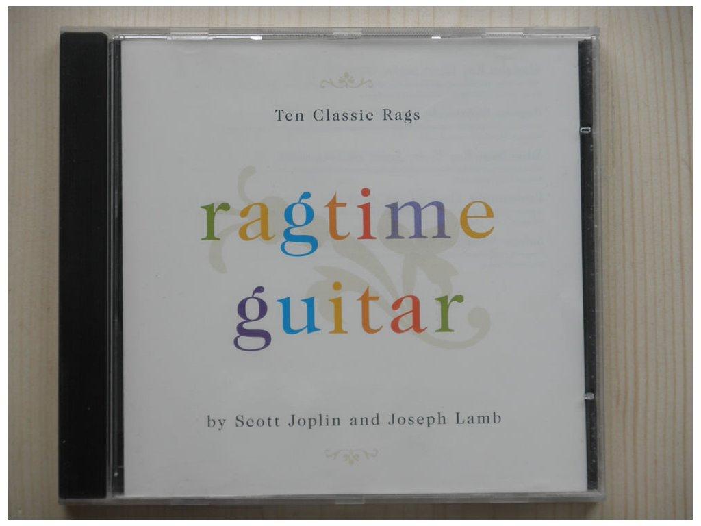 SCOTT JOPLIN and JOSEPH LAMB-RAGTIME GUITAR