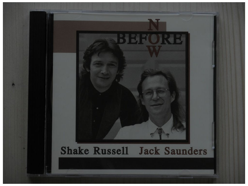 Shake Russell/Jack Saunders-BEFORE NOW