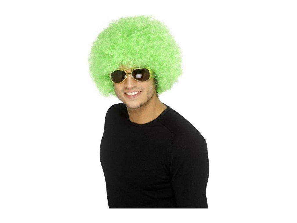 Paruka - Funky Afro - zelená