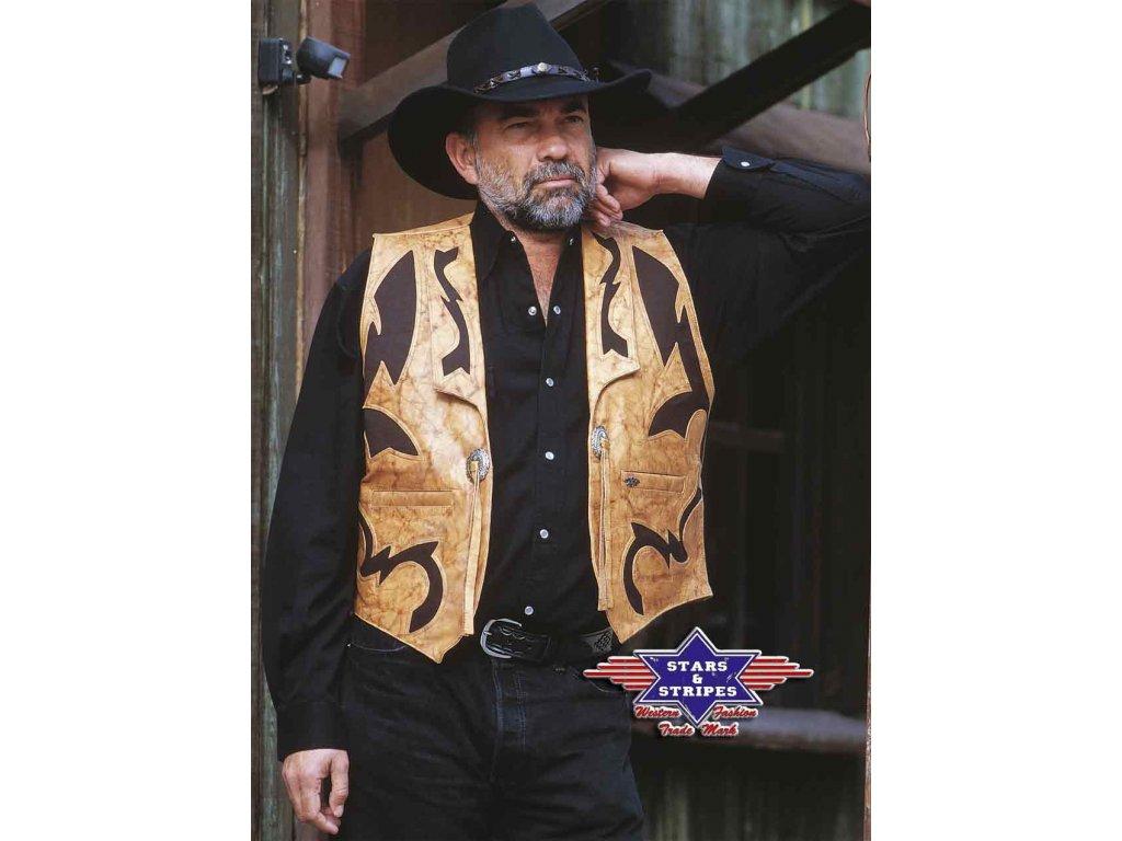 Westernová vesta JONES