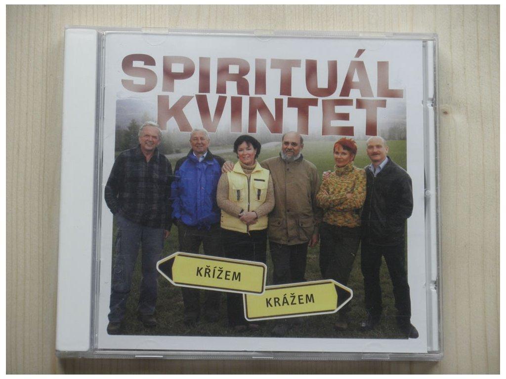 SPIRITUÁL KVINTET - KŘÍŽEM KRÁŽEM 2005