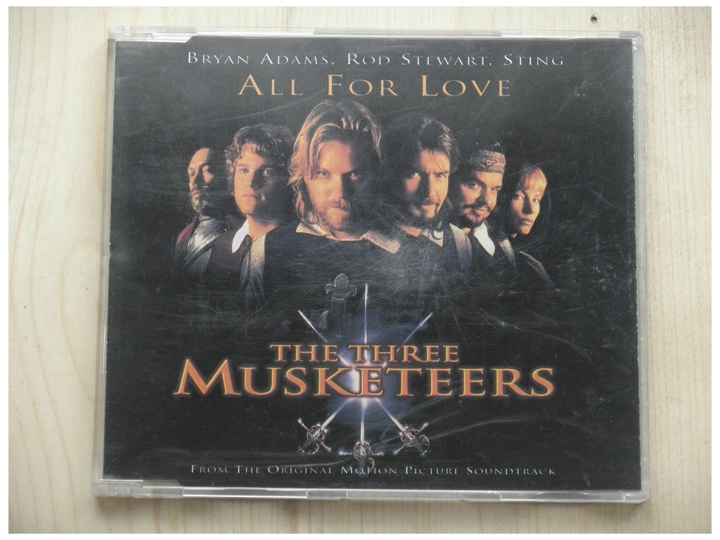 BRYAN ADAMS, ROD STEWART, STING - THE THREE MUSKETERS-ALL FOR LOVE