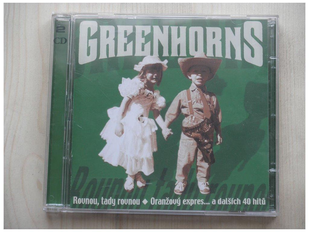 2 CD GREENHORNS - ORANŽOVÝ EXPRES A DALŠÍCH 41 HITŮ-2CD