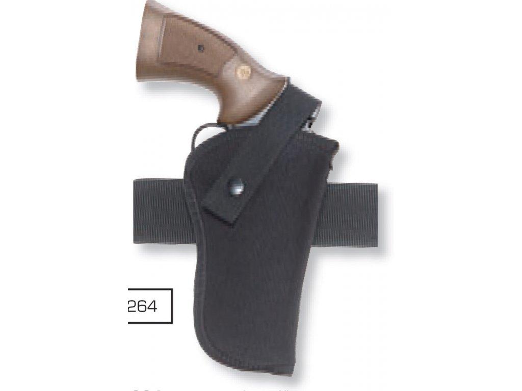 Opaskové pouzdro boční pro revolvery 4´´  DASTA 264