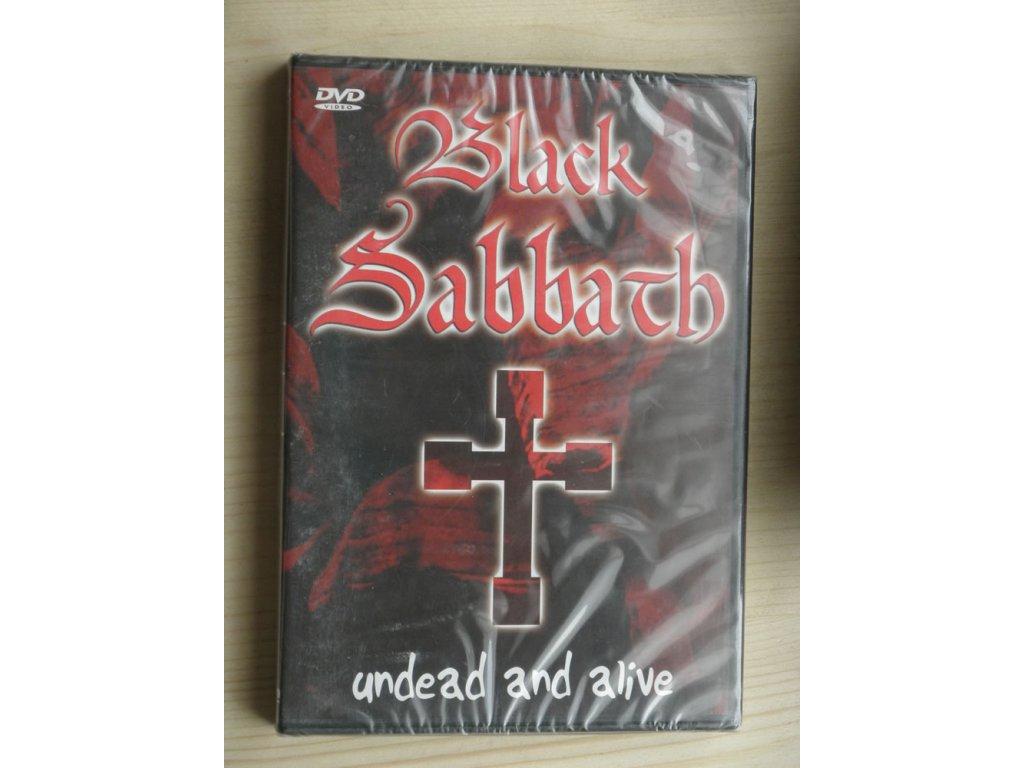 DVD BLACK SABATH - Undead and alive