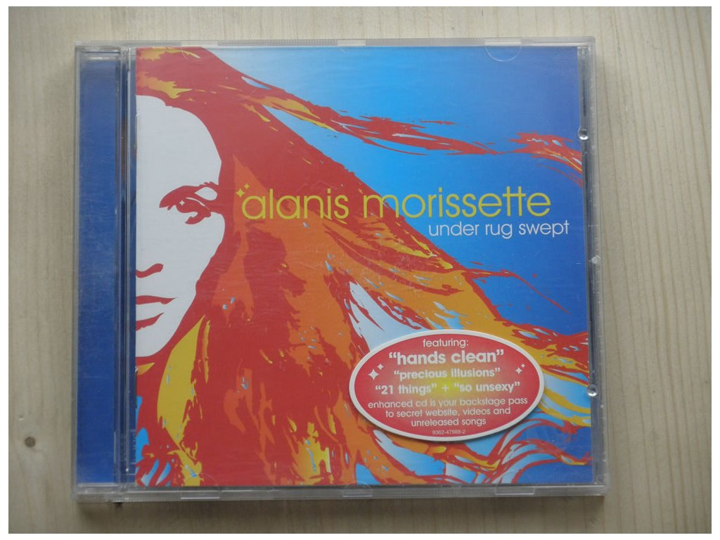 Alenis Morissette - UNDER RUG SWEPT