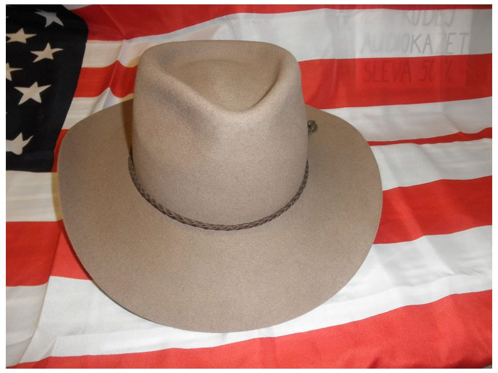 Kovbojský klobouk-hnědý