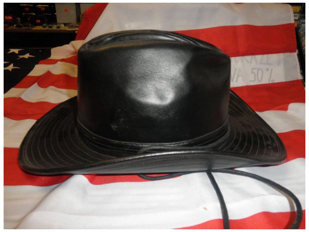 Westernový kloblouk ze syntetické kůže