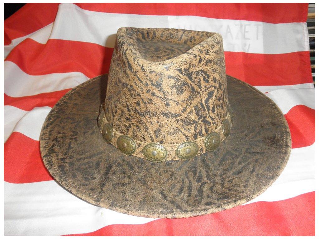 """Westernový klobouk """"CORRAL"""" kožený"""