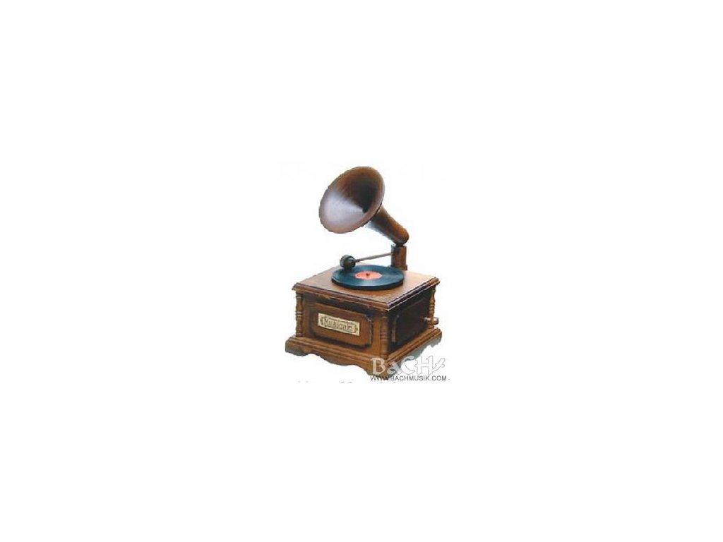 """Mini GRAMOFON """"retro"""" s hracím strojkem"""