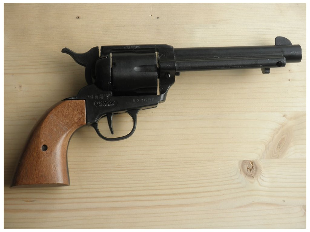 "Colt ""Peacemaker"" ráže 45, USA 1886-plynovka černá"