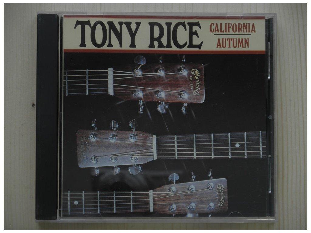 TONY RICE-CALIFORNIA AUTUMN