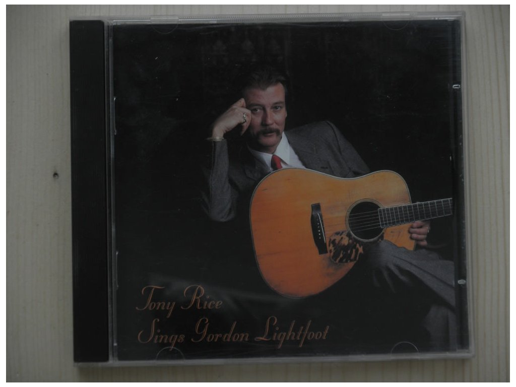 Tony Rice Sings Gordon Lightfoot