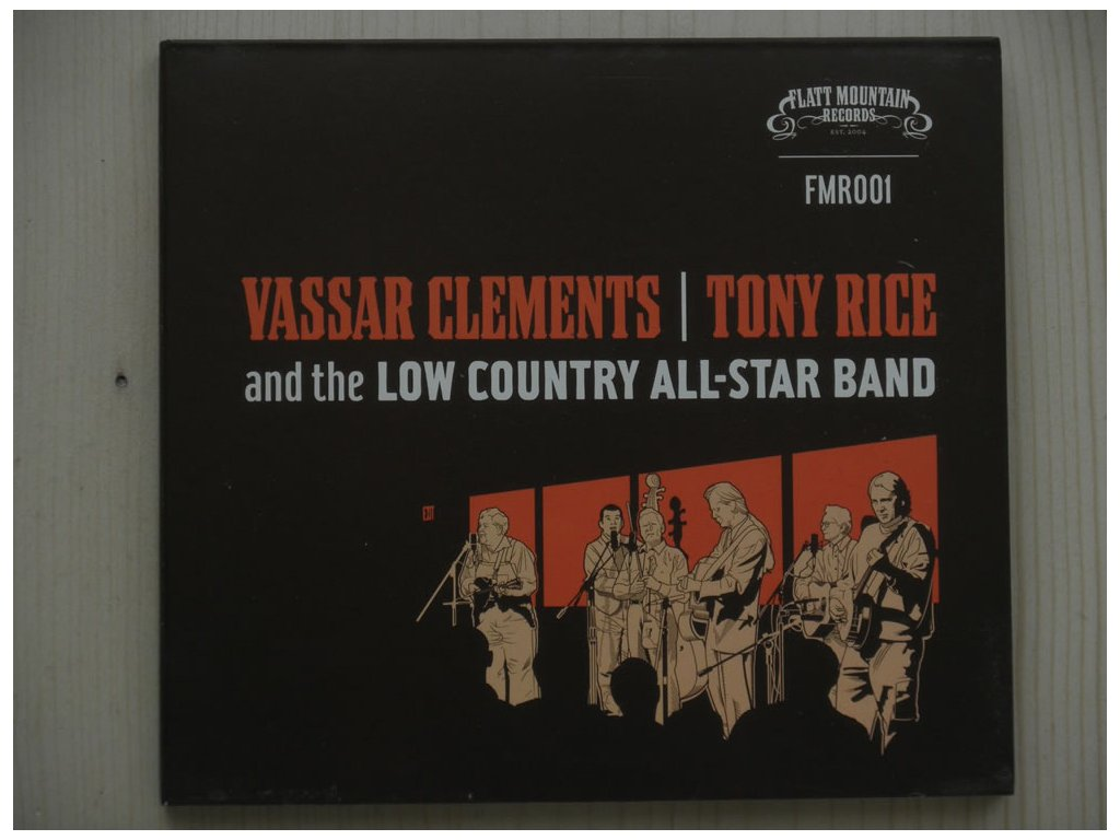 VASSAR CLEMENTS/TONY RICE and the LOW COUNTRY ALL-STAR BAND