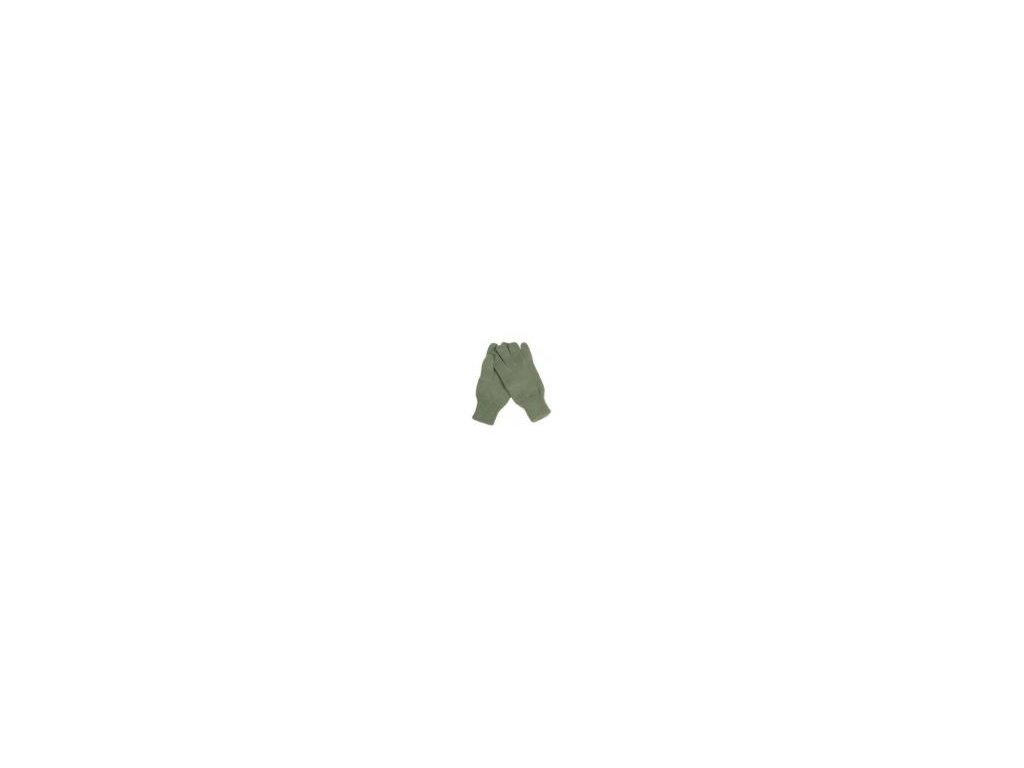 Rukavice acryl oliv
