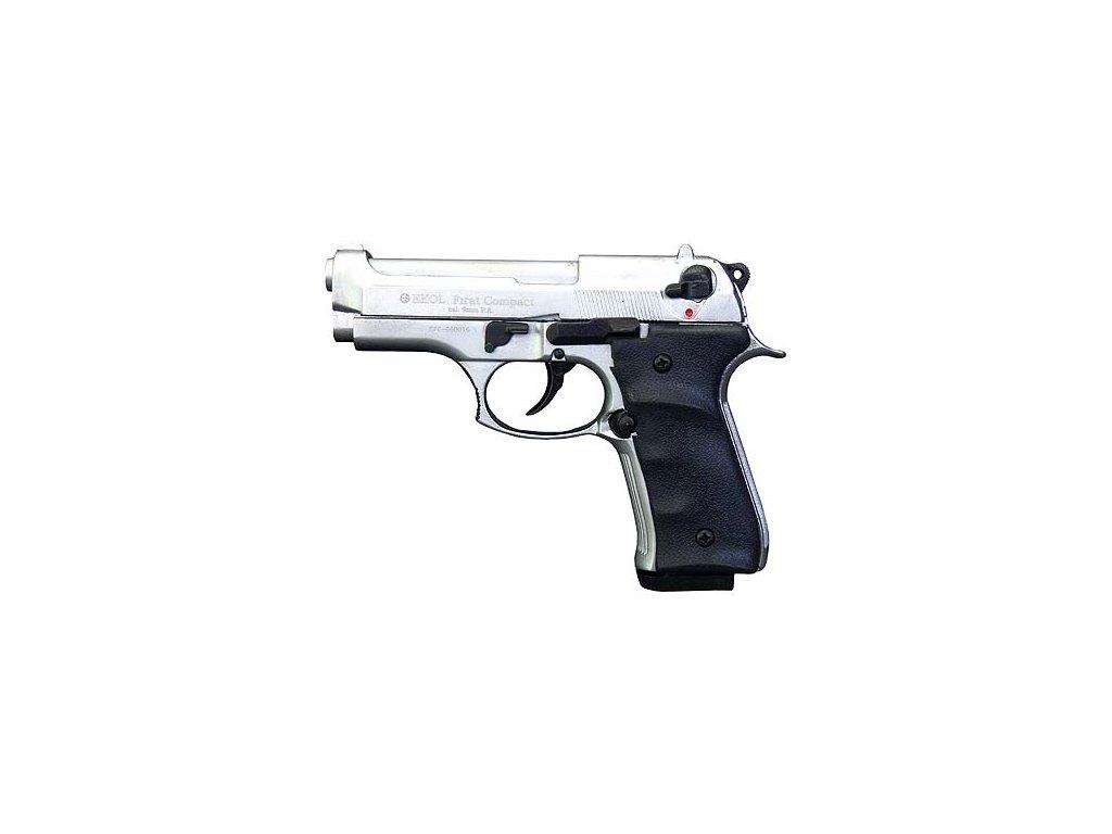 EKOL Firat Compact nikl, cal. 9mm P.A.