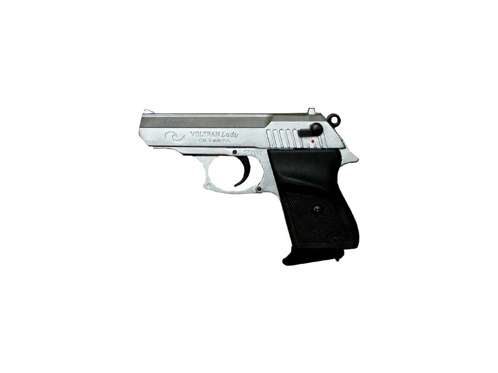 EKOL LADY 88 nikl, cal. 9mm P.A.