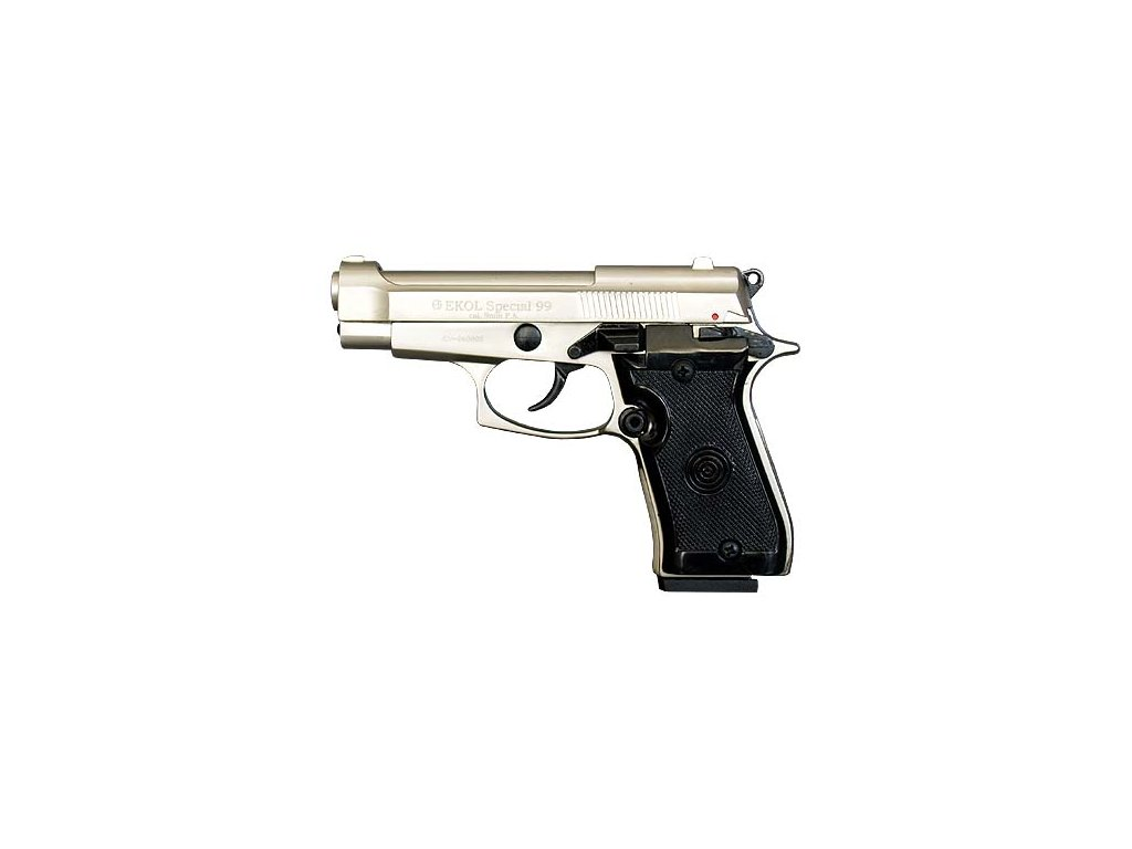 EKOL Special 99 nikl, cal. 9mm P.A.