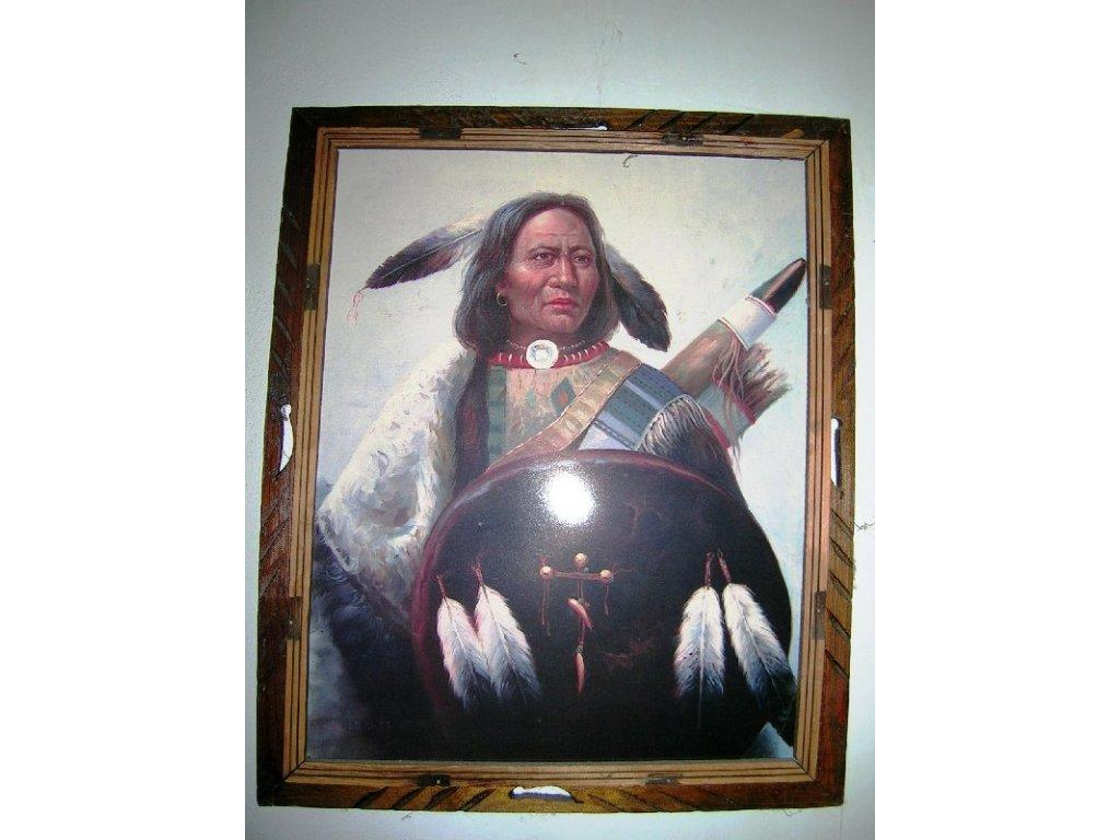 """Obraz """"Indiánský náčelník"""""""