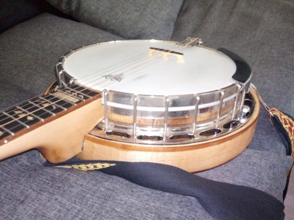 """Banjo 5strunné """"Novák"""" - ruční práce"""