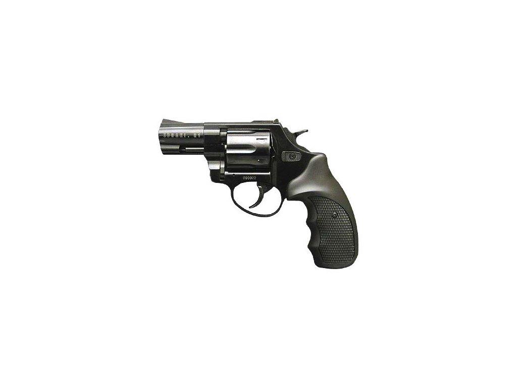 """ZORAKI R1 2,5"""", černý, cal: 9mm R / 9mm P.A. Knall"""