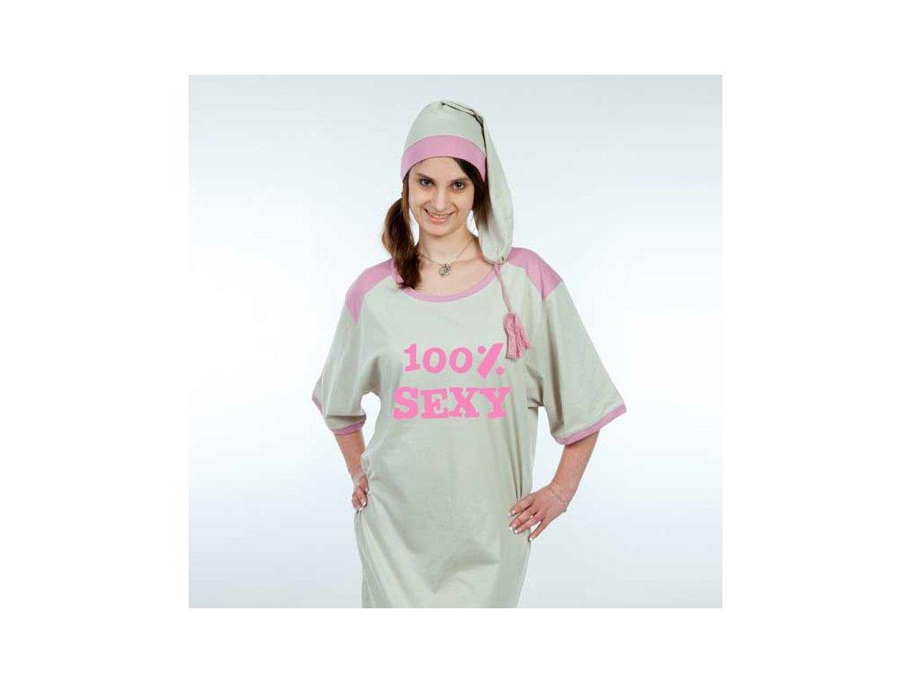 Noční košile lady – 100% sexy