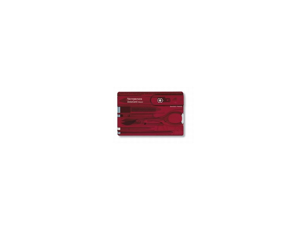 SwissCard Classic-red/brown