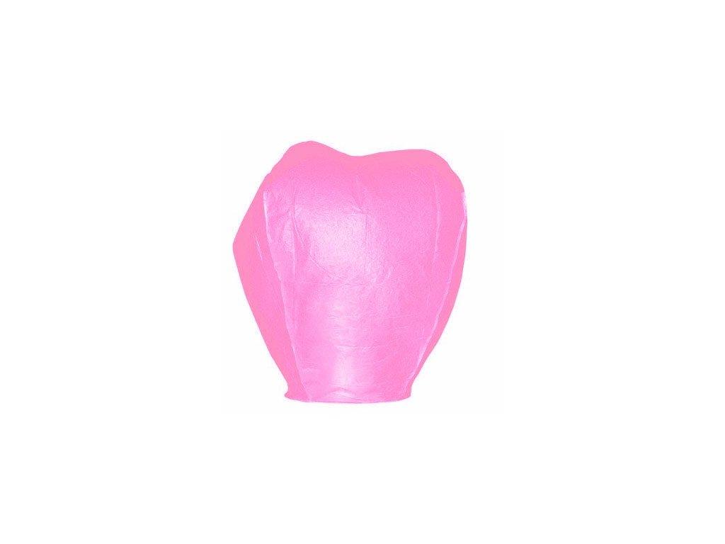LAMPIONY ŠTĚSTÍ a přání - Létající přání - balení 1ks.. > varianta Lampiony štěstí - růžová > 40x60x106cm