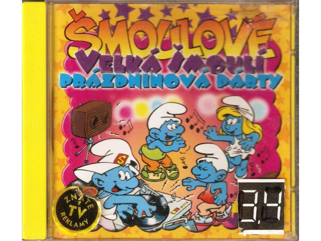 CD Šmoulové - Velká prázdninová party