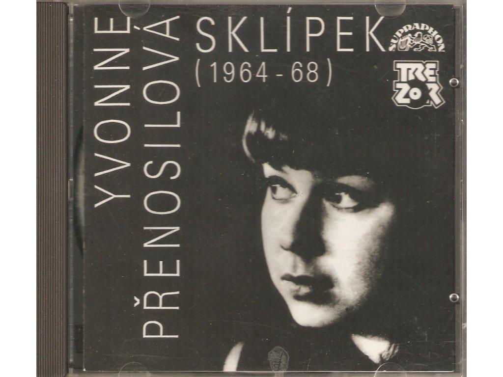 CD YVONNE PŘENOSILOVÁ - SKLÍPEK (1964 - 68)