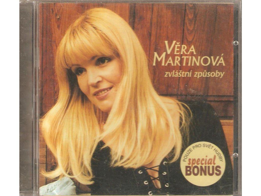 CD Věra Martinová - Zvláštní způsoby