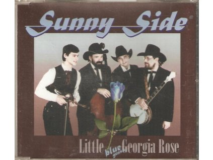 CD Sunny Side - Little bluegrass Georgia Rose