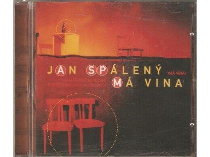 CD JAN SPÁLENÝ - (má vína) MÁ VINA