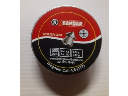 Diabolo KANDAR Magnum 4,5 mm - 500ks