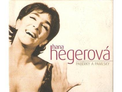 2CD Hana Hegerová - PABĚRKY A PAMLSKY