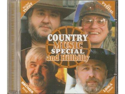 CD COUNTRY MUSIC SPECIAL and Hillbilly - Tučný, Vyčítal, Brumer, Linka