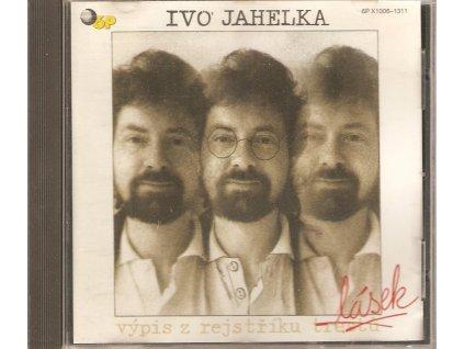 CD IVO JAHELKA - VÝPIS Z REJSTŘÍKU LÁSEK