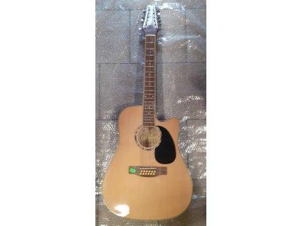 12 strunná kytara MSA guitar COUNTRY