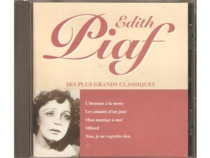 CD Edith Piaf - SES PLUS GRANDS CLASSIQUES