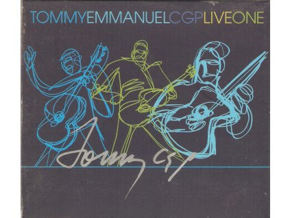 2CD TOMMY EMMANUEL - CGP LIVEONE