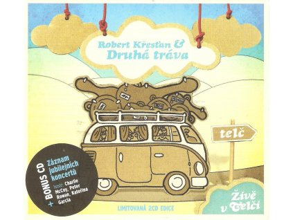 2CD Robert Křesťan plus Druhá tráva - Živě v Telči